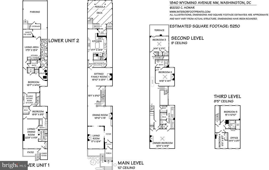 Floorplan - 1840 WYOMING AVE NW, WASHINGTON