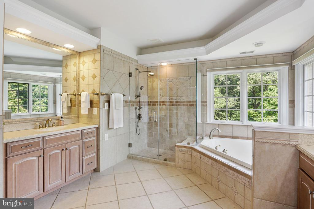 Master bathroom - 11418 WAPLES MILL RD, OAKTON