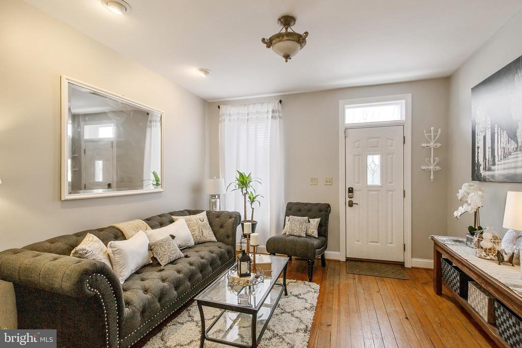 Living Room and Entrance - 442 W SOUTH ST, FREDERICK