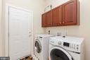 main level laundry - 7901 S RUN VW, SPRINGFIELD