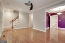 Living. room with access to the dining room - 5715 7TH ST N, ARLINGTON