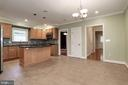 Large eat-in kitchen with a pantry - 5715 7TH ST N, ARLINGTON