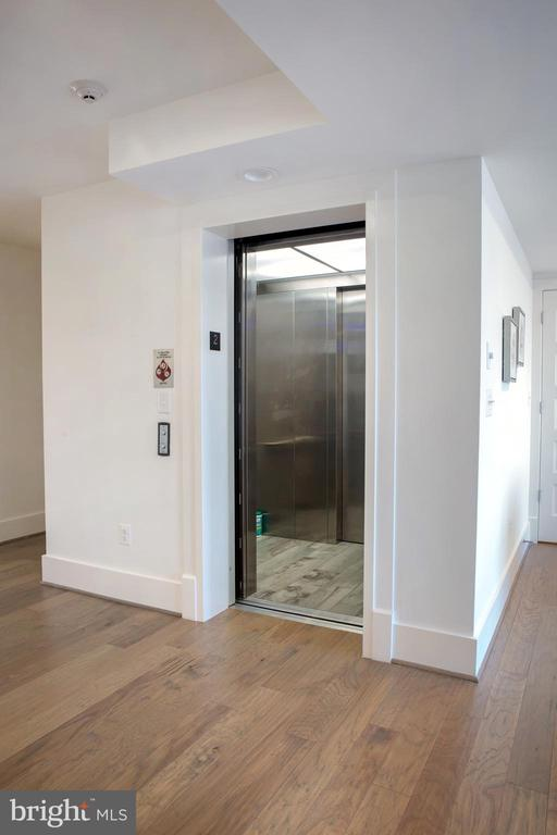 Elevator Opening Directly Into Unit 201 - 645 MARYLAND AVE NE #201, WASHINGTON