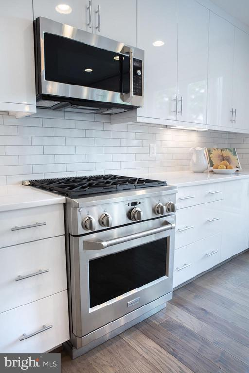 Kitchen Professional Monogram Stove - 645 MARYLAND AVE NE #201, WASHINGTON