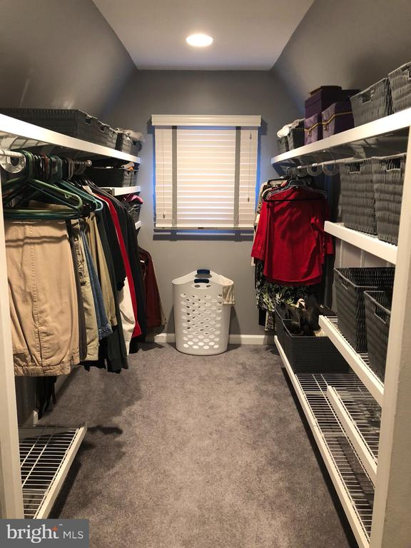 Master Bedroom Walk In Closet - 4705 FORDHAM RD, COLLEGE PARK
