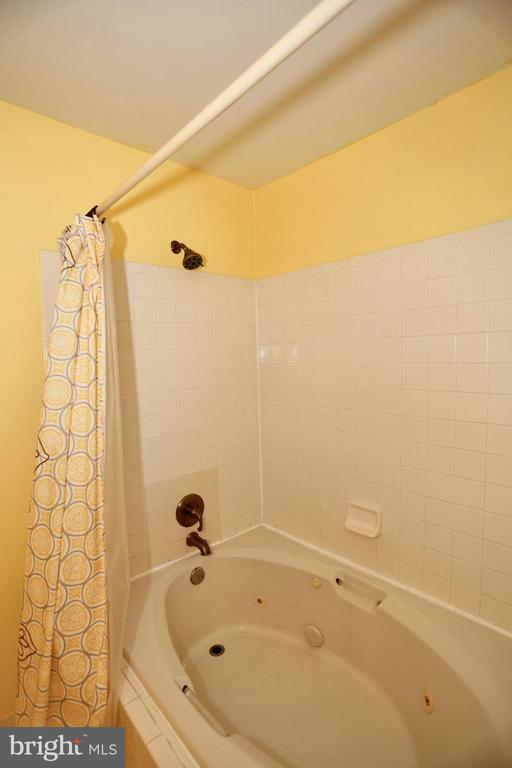 Master bathe with a whirlpool tub/shower - 415 RIDGEPOINT PL #32, GAITHERSBURG