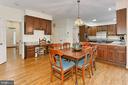 Breakfast Room/Kitchen - 6603 OKEEFE KNOLL CT, FAIRFAX STATION