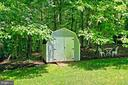 Yard/Shed - 6603 OKEEFE KNOLL CT, FAIRFAX STATION