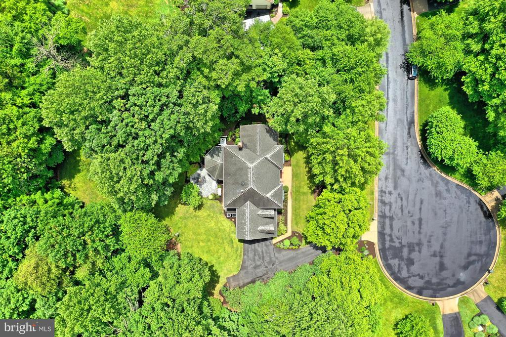 Aerial View - 6603 OKEEFE KNOLL CT, FAIRFAX STATION
