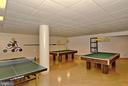Pool, ping pong (to be moved, expanded w/ reno) - 5902 MOUNT EAGLE DR #609, ALEXANDRIA
