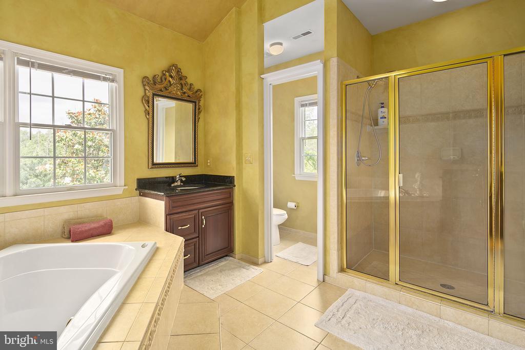MBR bath and shower - 43474 OGDEN PL, STERLING