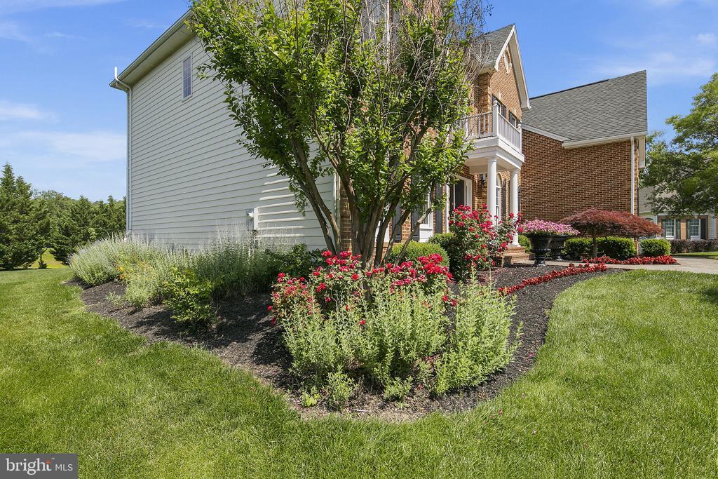 Professional landscaping - 43474 OGDEN PL, STERLING