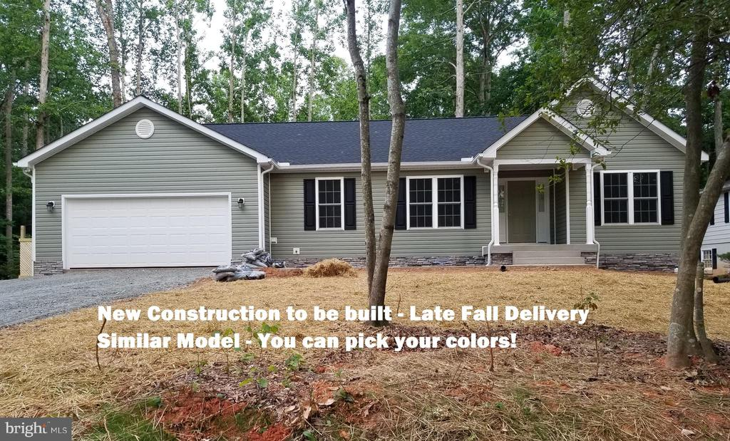 New home to be built - same model - similar - 111 APPLEVIEW CT, LOCUST GROVE
