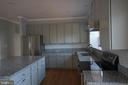 Kitchen with All NEW appliances and lighting - 6311 WILLOWFIELD WAY, SPRINGFIELD