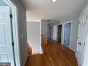 Upper Level Hallway View-2 - 6311 WILLOWFIELD WAY, SPRINGFIELD