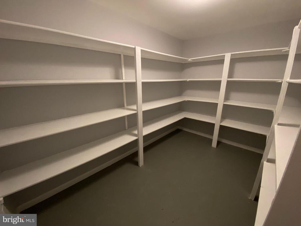 Storeroom with lots of shelving - 6311 WILLOWFIELD WAY, SPRINGFIELD