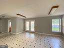 Recreation Room view-2 - French door to patio - 6311 WILLOWFIELD WAY, SPRINGFIELD