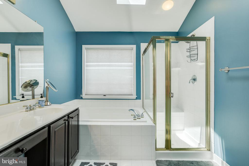 Owners Suite Full Bath - 807 VALEMOUNT TER NE, LEESBURG