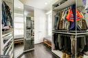 Walk in closet off master bath or bedroom 5 - 2301 1ST ST NW, WASHINGTON