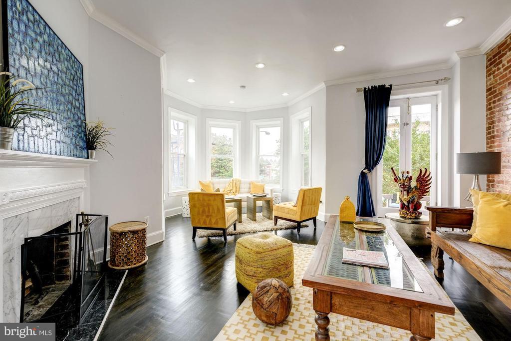 Living room - 2301 1ST ST NW, WASHINGTON