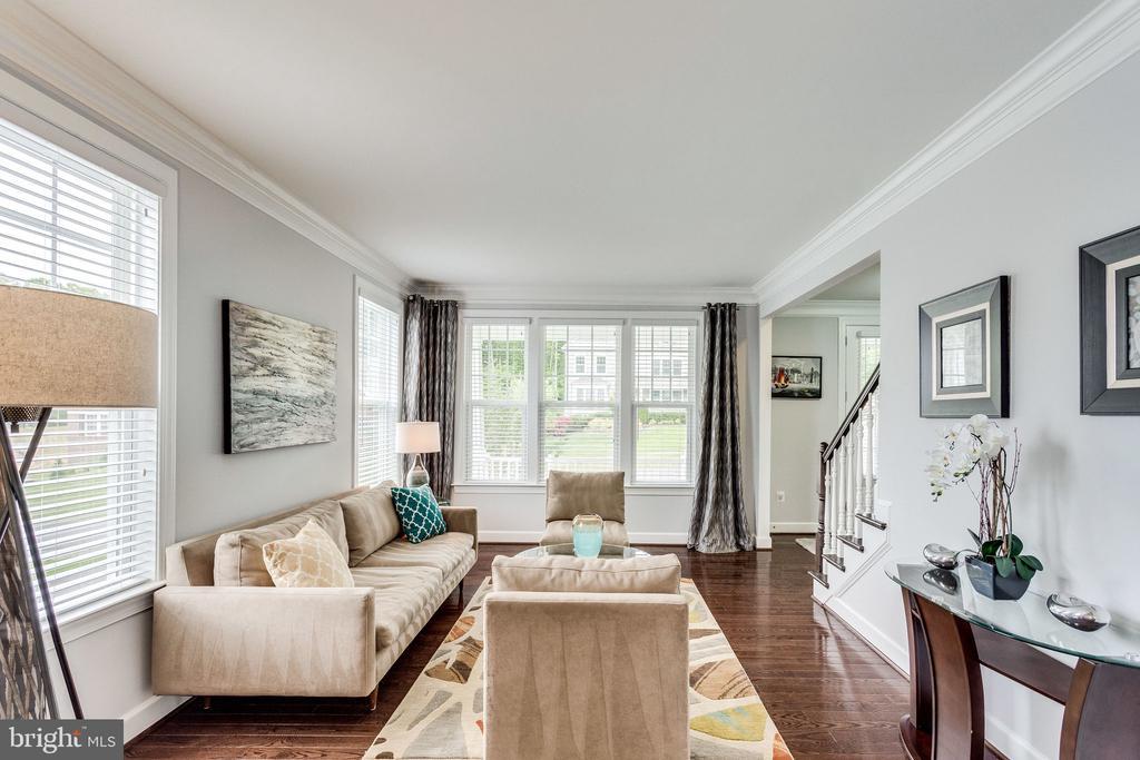 Formal Living Room Has Windows Galore - 41684 WAKEHURST PL, LEESBURG