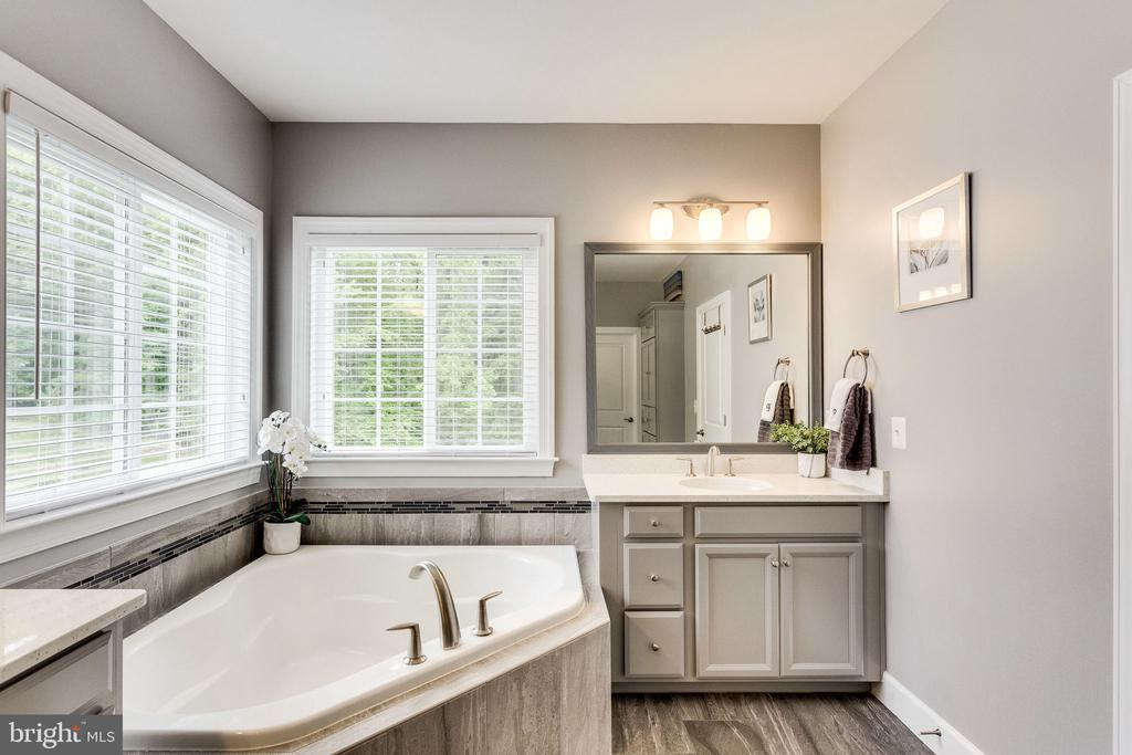 The Soaking Tub is Ready for Relaxation - 41684 WAKEHURST PL, LEESBURG