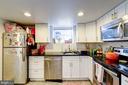 Rental unit A kitchen - 2301 1ST ST NW, WASHINGTON