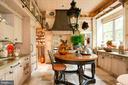 Kitchen designed by interior designer, Barry Dixon - 8394 ELWAY LN, WARRENTON