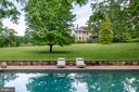 Extraordinary black bottom pool with pea gravel - 8394 ELWAY LN, WARRENTON