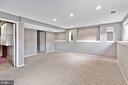 Basement with windows - 13008 ROCK SPRAY CT, HERNDON