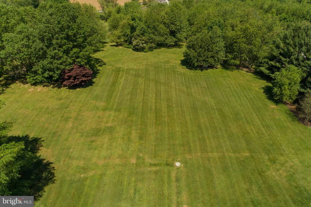 Aerial View of Rear Yard - 3842 MOUNT AIRY DR, MOUNT AIRY