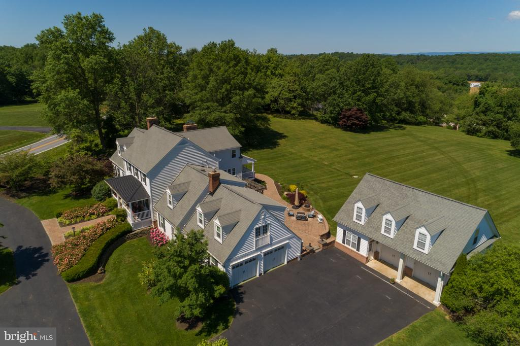 Aerial View of Property - 3842 MOUNT AIRY DR, MOUNT AIRY