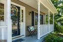 Relax on the Covered Front Porch - 3611 ALBERTA DR, FREDERICKSBURG