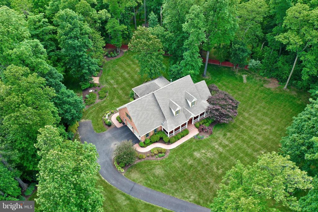 Aerial View - 92 EARLE RD, CHARLES TOWN