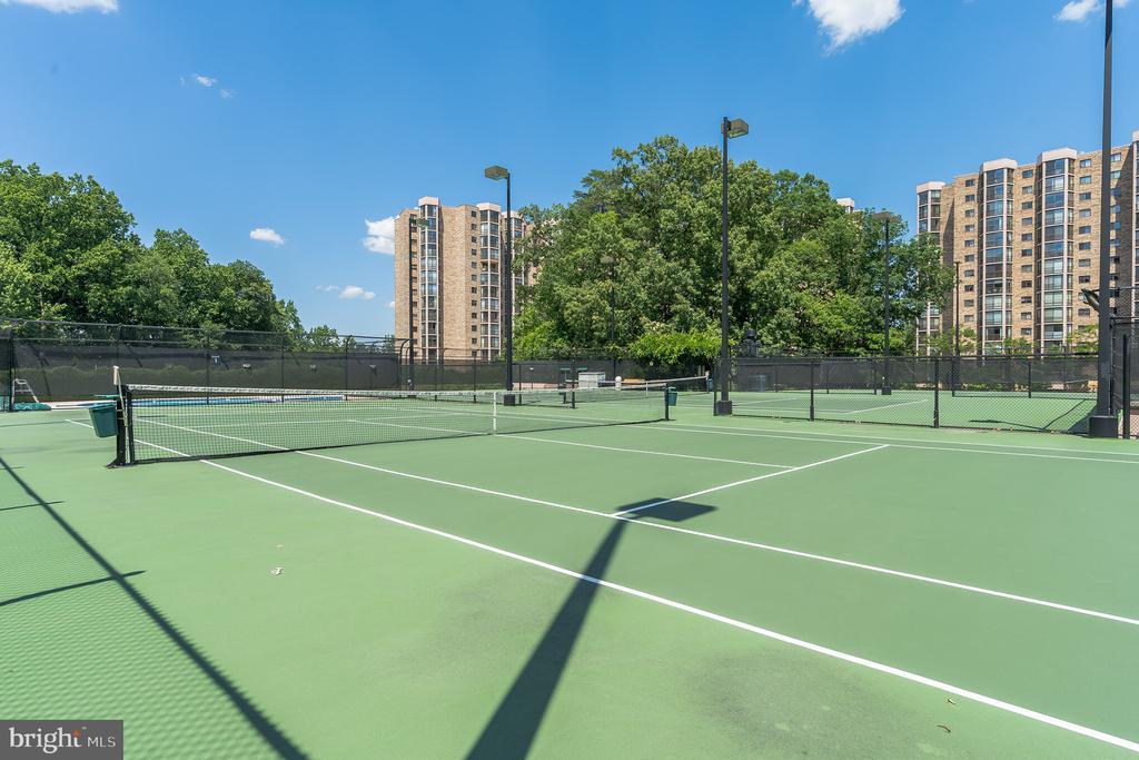 Tennis courts - 5903 MOUNT EAGLE DR #610, ALEXANDRIA