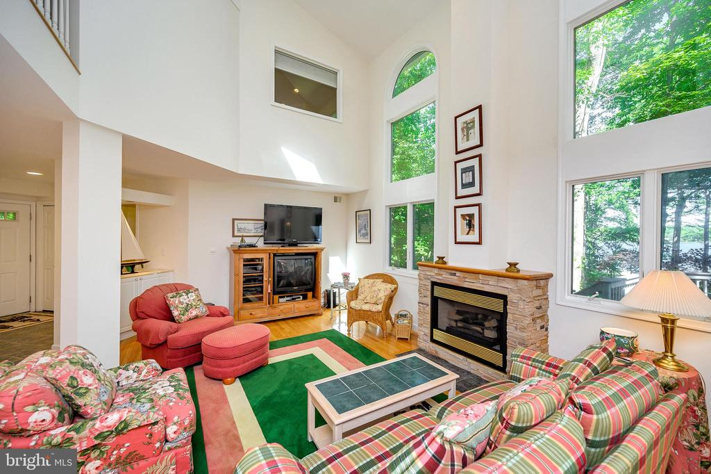 Window Walls, Gas Fireplace - 124 BIRCHSIDE CIR, LOCUST GROVE