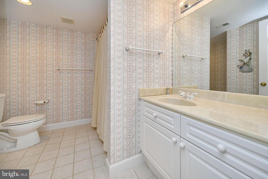 Lower Level full bath - 124 BIRCHSIDE CIR, LOCUST GROVE
