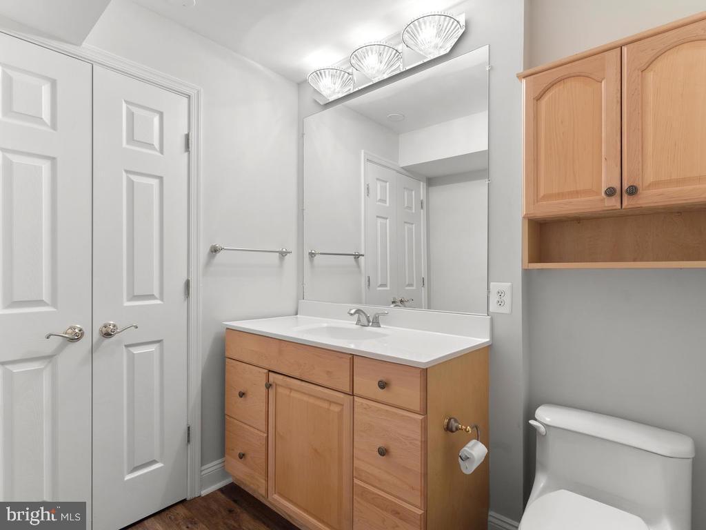 Lower Level Powder Room - 13716 SAFE HARBOR CT, ROCKVILLE