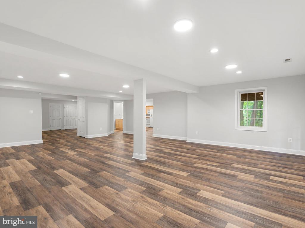 Lower Level Recreation Room - 13716 SAFE HARBOR CT, ROCKVILLE