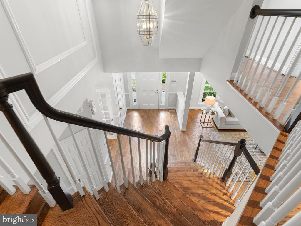 View From Foyer - 13716 SAFE HARBOR CT, ROCKVILLE