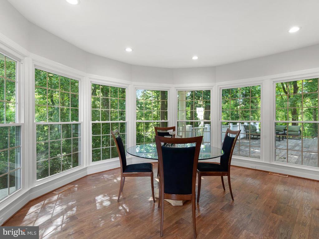 Conservatory w/ New Full Window Surround - 13716 SAFE HARBOR CT, ROCKVILLE
