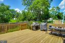 Super large deck for a super place to entertain! - 55 POTTERFIELD DR, LOVETTSVILLE