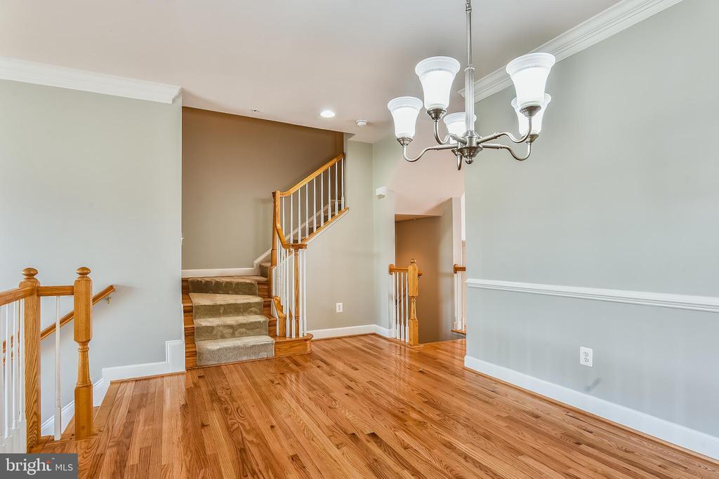 Hardwood Floors on Main Level - 1216 GAITHER RD, ROCKVILLE