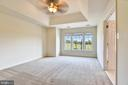 Master Bedroom with Trey Ceiling and Large Windows - 1216 GAITHER RD, ROCKVILLE