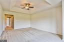 Master Bedroom with Trey Ceiling - 1216 GAITHER RD, ROCKVILLE