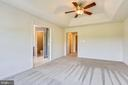 Master Bedroom Suite with Ceiling Fan - 1216 GAITHER RD, ROCKVILLE