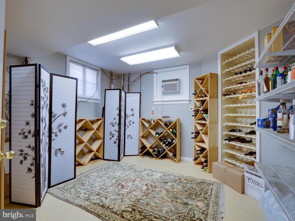 Owners Wine Storage Room in Basement - 712 E CAPITOL ST NE, WASHINGTON