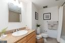 Master bathroom - 1150 K ST NW #411, WASHINGTON