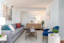 Living room - 1150 K ST NW #411, WASHINGTON