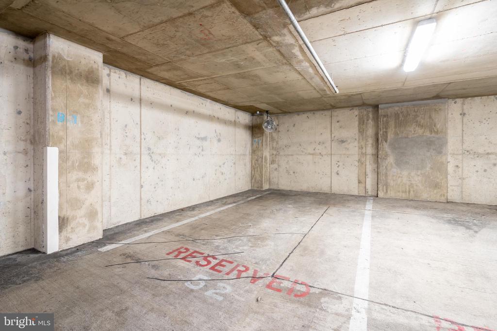 Extra large parking space - 1150 K ST NW #411, WASHINGTON